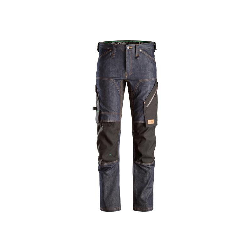 Pantaloni in denim Blu/nero